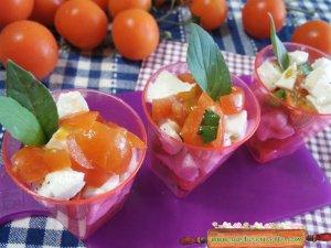 bicchierini salati capresi
