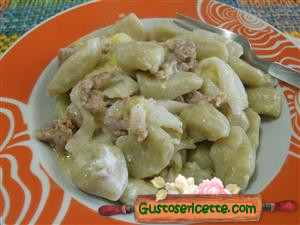 Gnocchi di patate e cavolo cinese