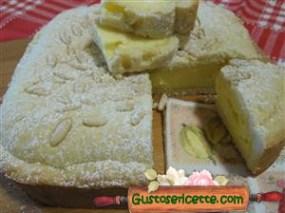 torta della nonna con ricotta