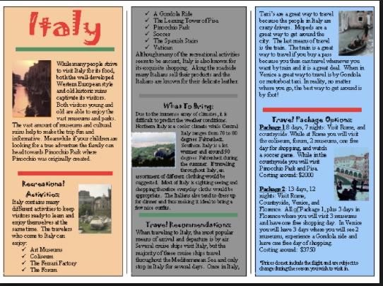 Balarat Brochure