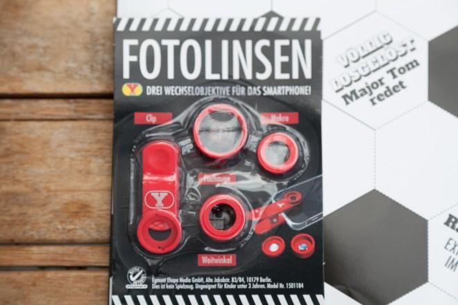 Yps Fotolinsen für Smartphones