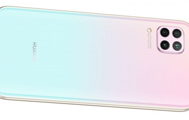 Rückansicht Huawei P40 lite mit 4 Kameras