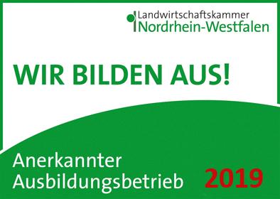 Wir bilden aus Landwirtschaftskammer Nordrhein Westfalen
