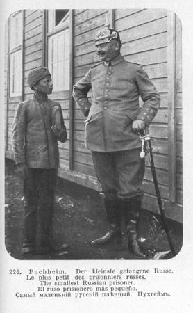 The smallest Russian prisoner.