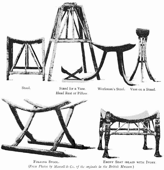 folding chair nathaniel alexander rail design ideas illustrated history of furniture by frederick litchfield in the british museum stool stand for a vase head rest or pillow workman s on ebony seat inlaid with ivory