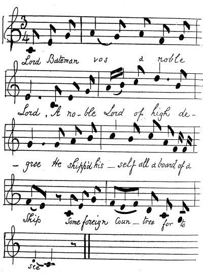Lauderdale blog: musical score