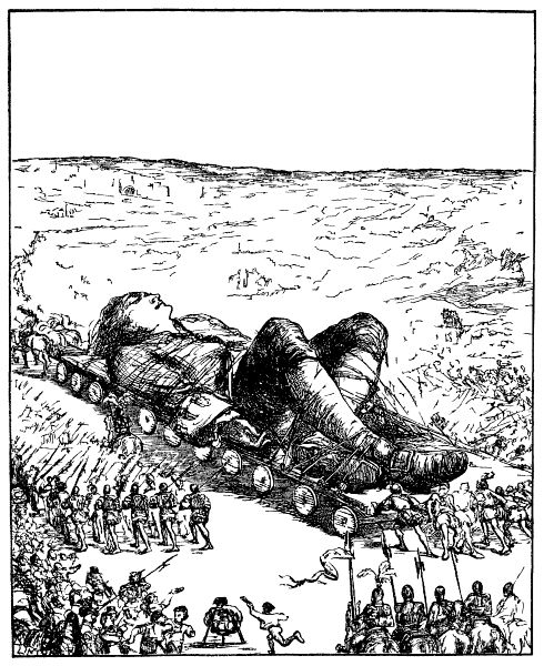 The Project Gutenberg eBook of Gulliver's Travels, by