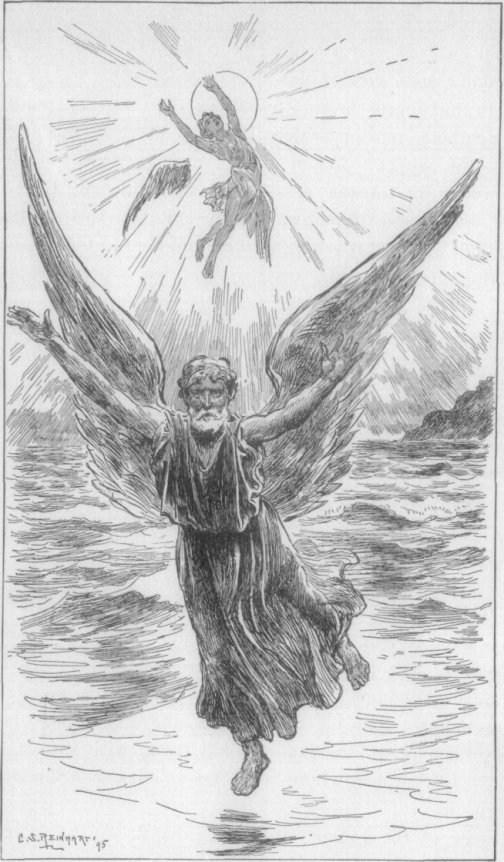 Dædalus and Icarus.