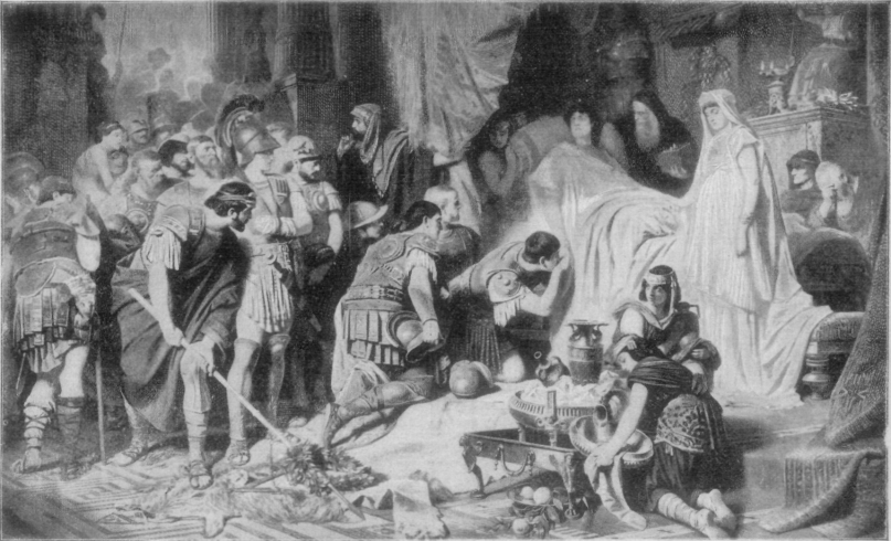 Death of Alexander.