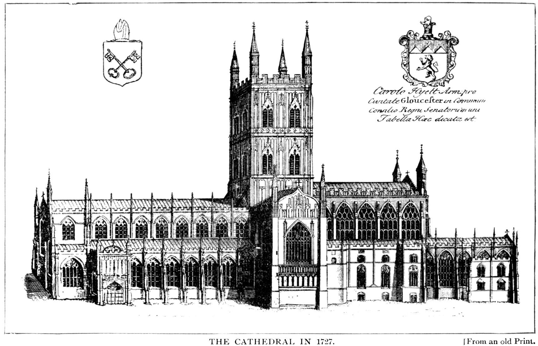The Project Gutenberg Ebook Of The Cathedral Church Of