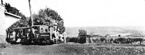 Private Railroad on a São Paulo Coffee Fazenda