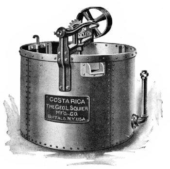 Costa Rica Vertical Coffee Washer