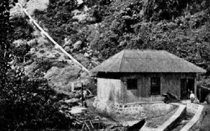 Hydro-electric power plant on Finca Ona
