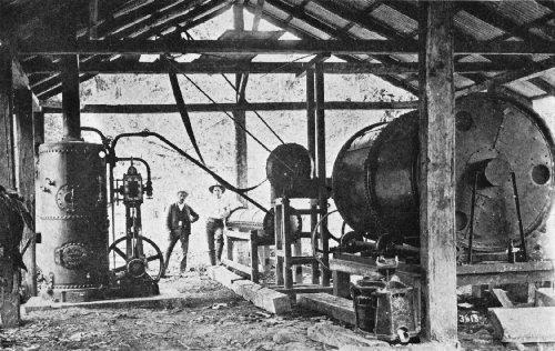 """Early Guardiola Steam Drier, """"El Canida"""" Plantation, Costa Rica"""