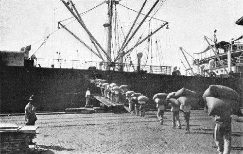 Loading by the Old-Style Hand-Labor Method
