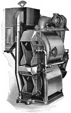 Lambert Junior Gas Roasting, Cooling, and Stoning Outfit for Retail Stores (Capacity fifty pounds)