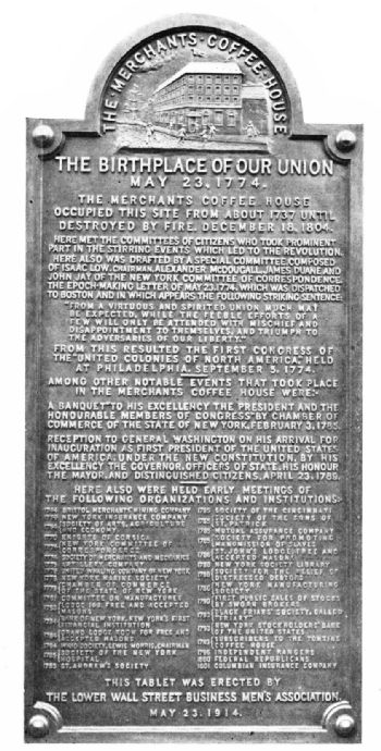 Merchants Coffee House Tablet