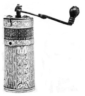 Coffee Grinder Set with Jewels
