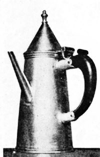 Coffee Pot, 1689