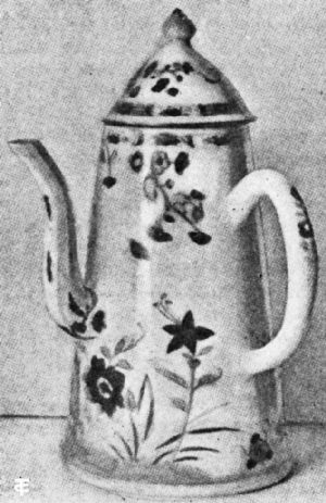 Chinese Porcelain Coffee Pot