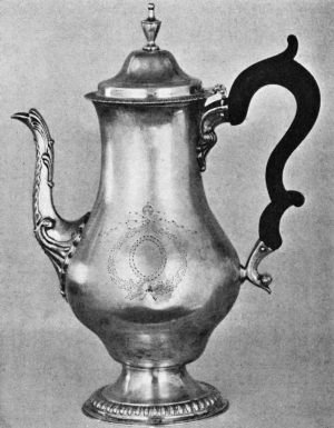 Silver Pot by Ephraim Brasher