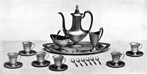 Twentieth-Century American Coffee Service