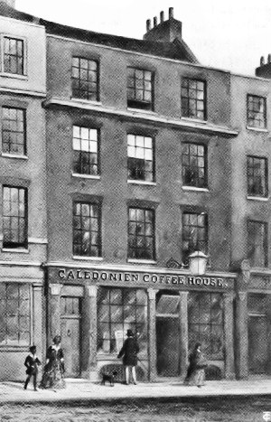 Button's Coffee House, Great Russell Street