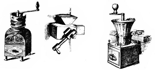 Early French Wall and Table Grinders
