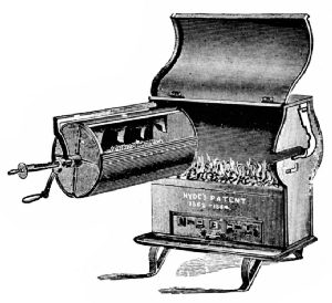 Hyde's Combined Roaster and Stove