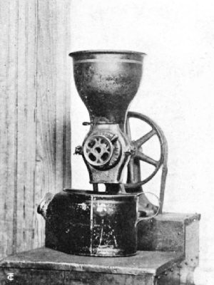 One of the First Electric Coffee Mills