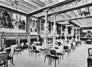 Interior, Café Bauer, Berlin