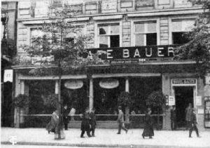Café Bauer, Unter den Linden, Berlin
