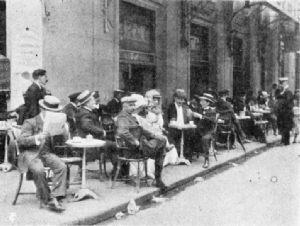 Sidewalk Café, Lisbon