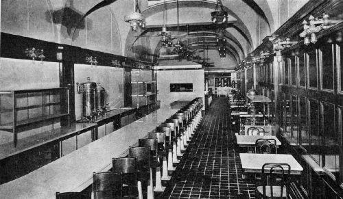 The Coffee Room of the Hotel Adolphus, Dallas, Texas