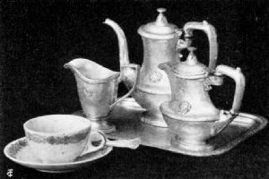 Coffee Service, Hotel Astor, New York