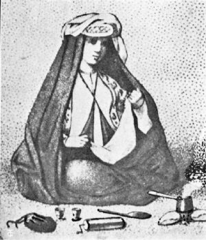 Early Coffee Making in Persia