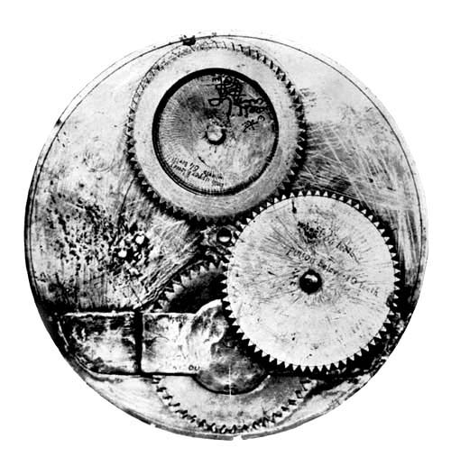 Gearing from Astrolabe Shown in Figure 11.
