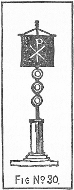 Labarum, a sacred banner