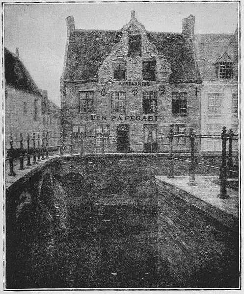 THE PAPEGAEI INN (From a picture by M. Léon Cassel)