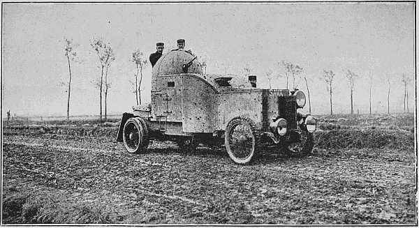 Cl. Meurisse BELGIAN ARMOURED CAR RECONNOITRING IN THE PLAIN OF DIXMUDE