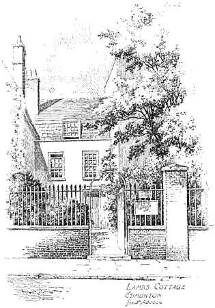 Famous Houses and Literary Shrines of London, by A. St