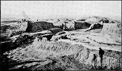 South-Eastern Façade of Ur-Ninâ