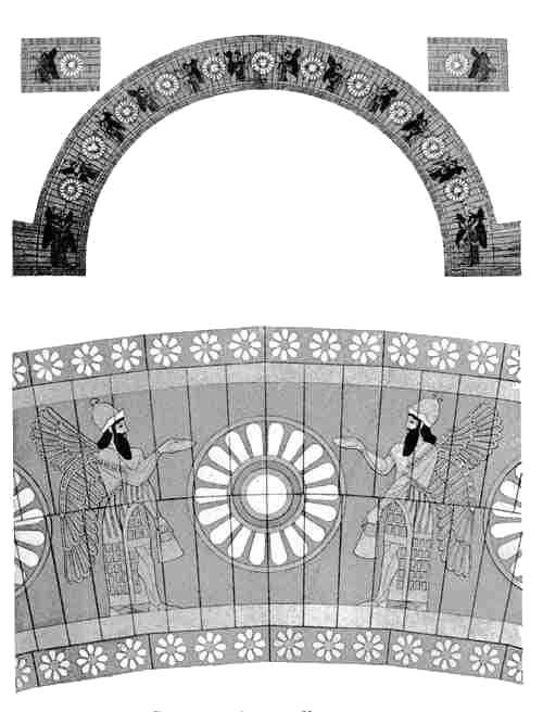 Decorated Arch at Khorsabad