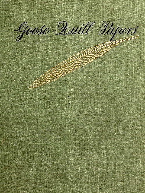 guineys dining chair covers pink beauty salon chairs the project gutenberg ebook of goose quill papers by louise imogen cover