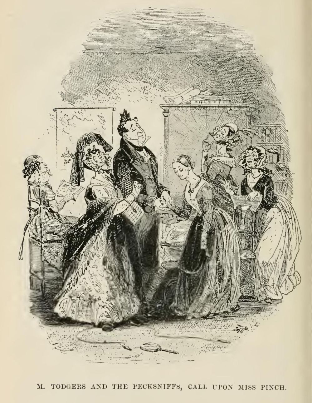 medium resolution of it is a melancholy fact but it must be related that mr pinch s sister was not at all ugly on the contrary she had a good face a very mild and