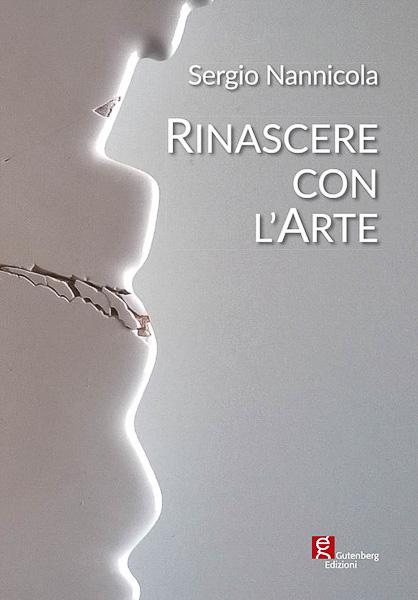 copertina del catalogo rinascere con l'arte