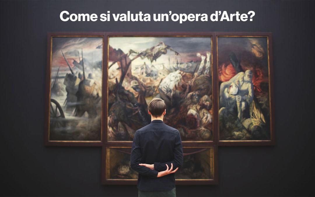 Come si valuta un'opera d'arte Contemporanea?