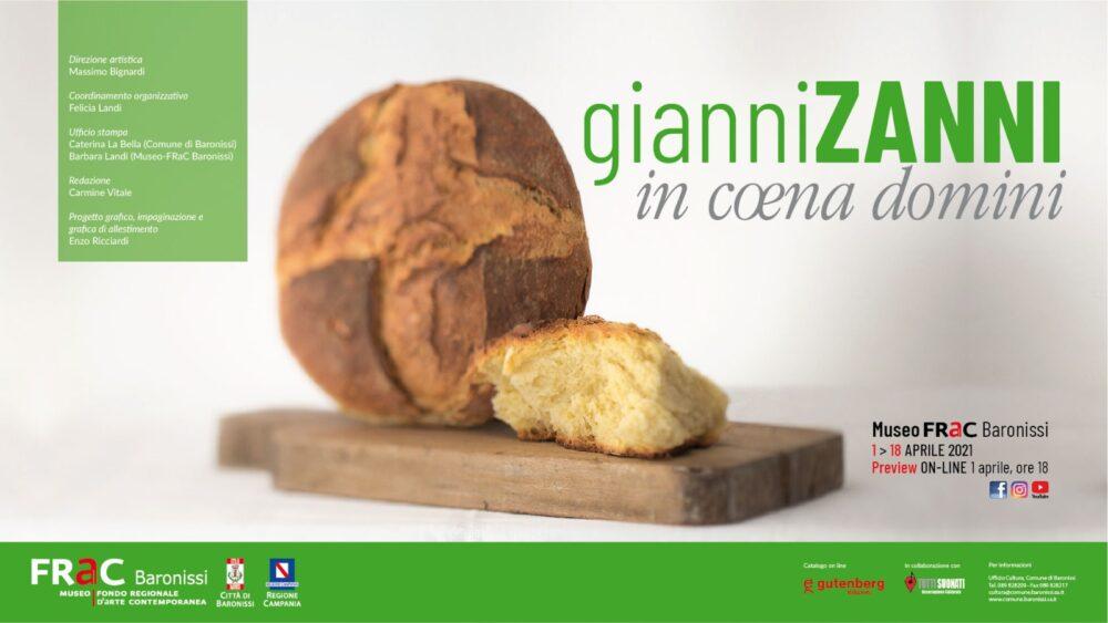 Gianni Zanni – In coena domini (Mostra online)
