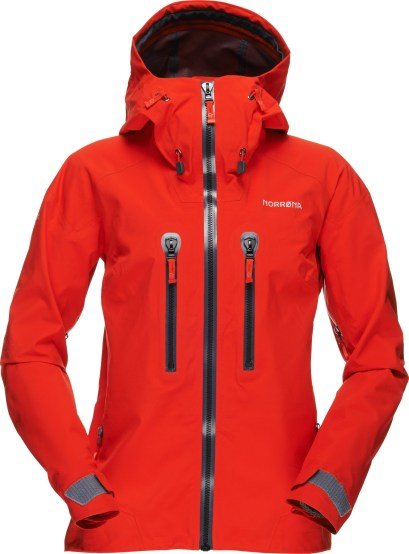 Norrøna Trollveggen Gore-Tex Pro jacket_tasty red