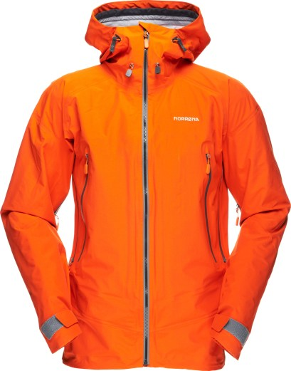Norrøna Trollveggen dri3 jacket men_orange